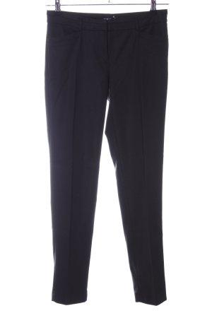 More & More Pantalone a pieghe nero stile professionale