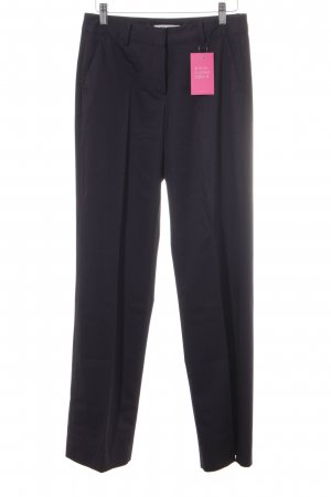 More & More Pleated Trousers dark blue business style