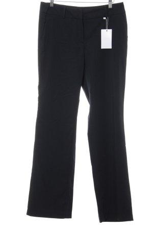 More & More Pantalon à pinces bleu foncé élégant