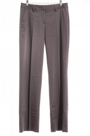 More & More Bundfaltenhose dunkelgrau Business-Look