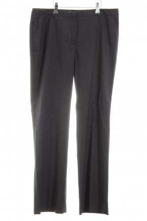 More & More Pleated Trousers light grey flecked business style