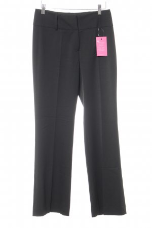 More & More Bundfaltenhose schwarz Business-Look