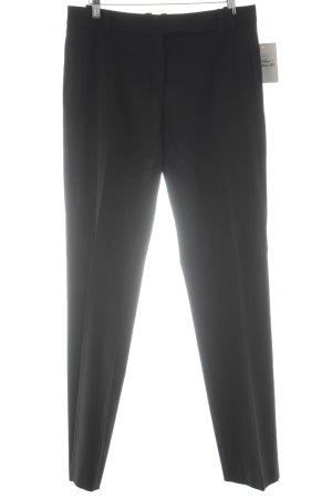 More & More Pantalon à pinces noir style d'affaires