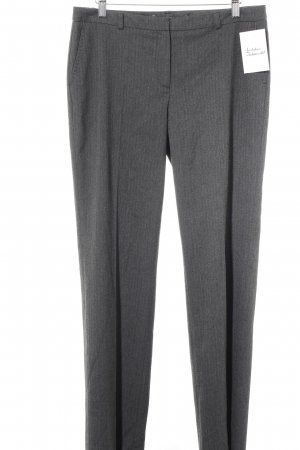 More & More Bundfaltenhose taupe Business-Look