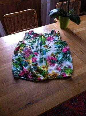 MORE&MORE bunte ärmellose Bluse Gr. 42