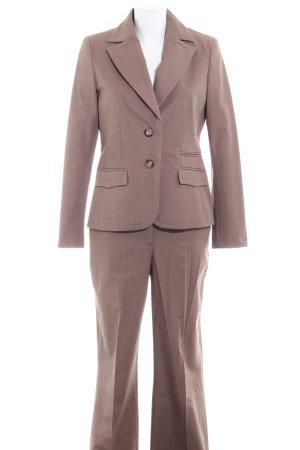 More & More Traje de negocios marrón grisáceo estilo «business»