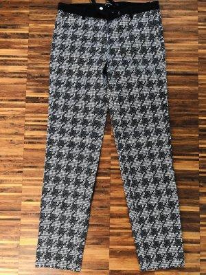 More & More Pantalón de tubo marrón-negro