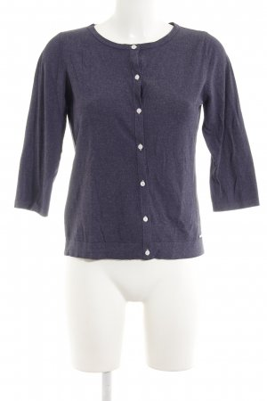 More & More Cardigan dunkelviolett Casual-Look