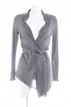 More & More Cardigan grau Casual-Look