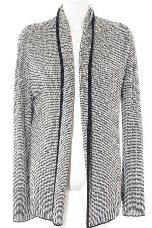 More & More Cardigan weiß-schwarz Farbverlauf Casual-Look