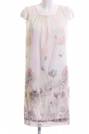 More & More Chiffonkleid creme Blumenmuster Casual-Look