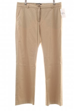 More & More Chinohose beige Casual-Look