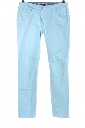 More & More Chinohose blau Casual-Look