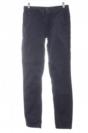 More & More Chinohose dunkelblau Casual-Look