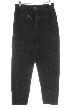 More & More Pantalone di velluto a coste grigio-verde stile casual