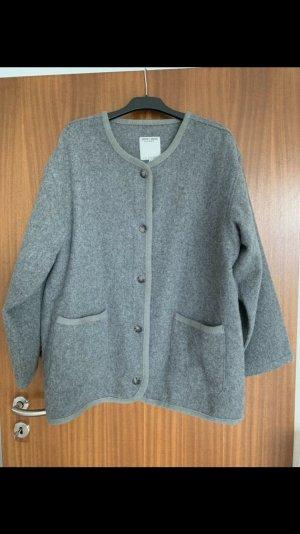 Chaqueta de lana gris