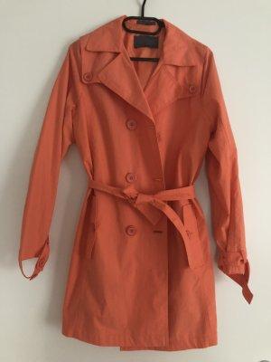 More&More Damen Mädchen Mantel Trenchcoat