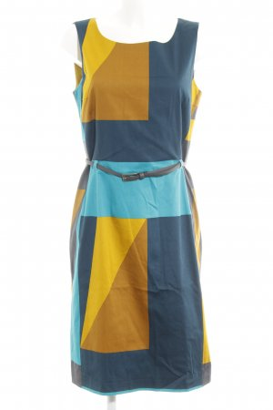 More & More Etuikleid Colourblocking Business-Look