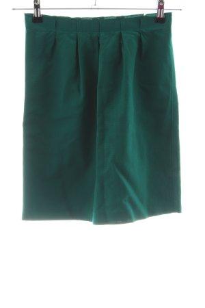 More & More Faltenrock grün Casual-Look