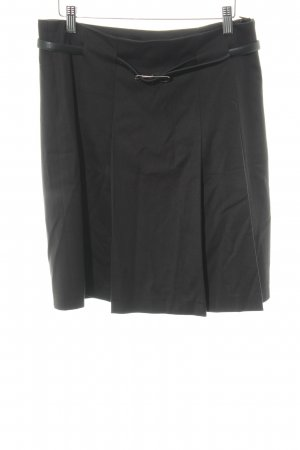 More & More Jupe à plis noir élégant
