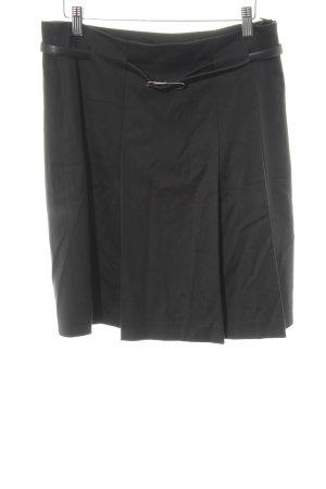 More & More Plooirok zwart elegant