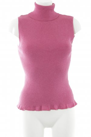 More & More Fine Knitted Cardigan magenta casual look