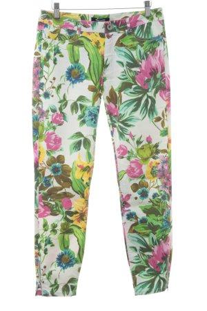 More & More Pantalone cinque tasche stampa integrale stile da moda di strada