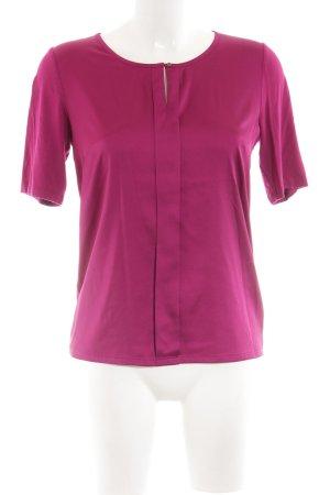 More & More Glanzende blouse roze elegant