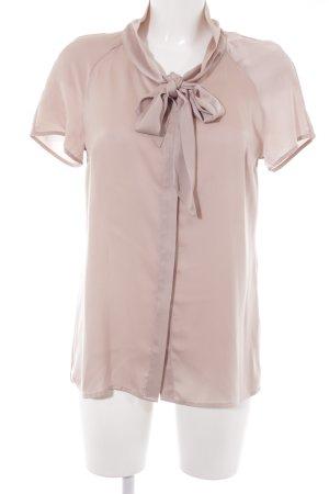 More & More Glanzbluse roségoldfarben Elegant