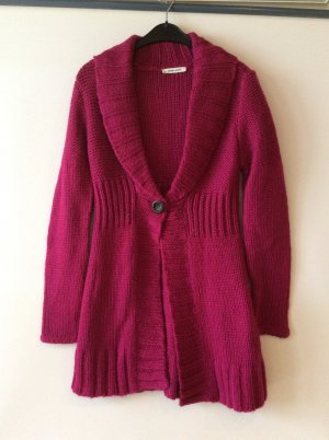 More & More Coarse Knitted Jacket magenta