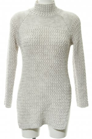 More & More Grobstrickpullover wollweiß Casual-Look