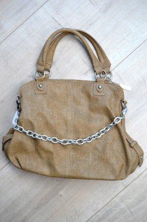 More&More Handtasche im Schlangen-Leder-Look