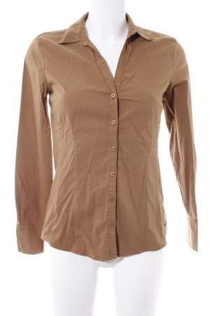 More & More Blouse-chemisier cognac style d'affaires