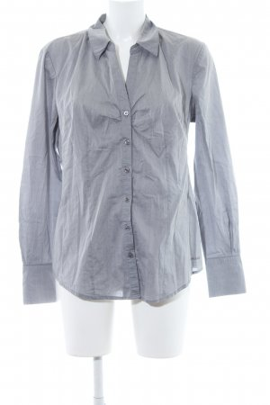 More & More Blouse-chemisier gris clair style d'affaires