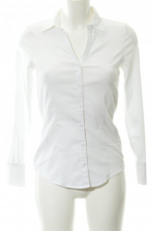 More & More Hemd-Bluse weiß Business-Look