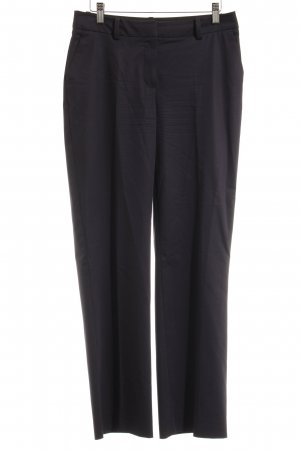 More & More High-Waist Hose dunkelblau Business-Look