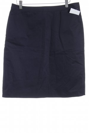 More & More High Waist Skirt dark blue business style