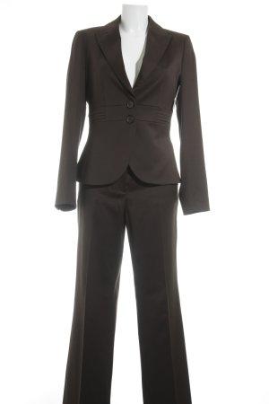 More & More Tailleur-pantalon bronze style d'affaires