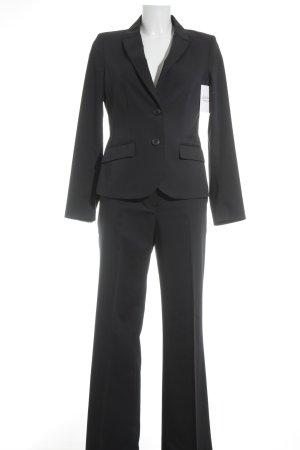 More & More Tailleur-pantalon bleu foncé style d'affaires