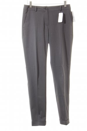 More & More Low-Rise Trousers slate-gray casual look