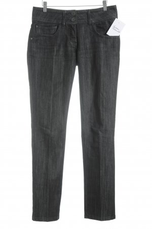 More & More Low Rise Jeans black-white casual look