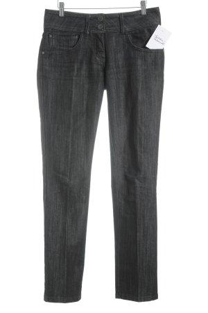 More & More Jeans vita bassa nero-bianco stile casual