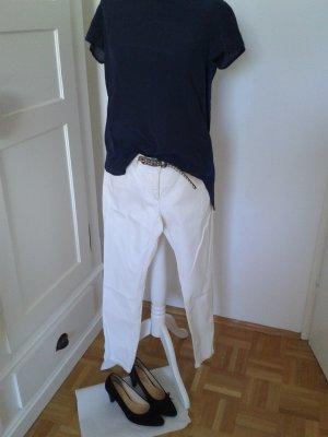 More & More Jeans a 7/8 giallo chiaro