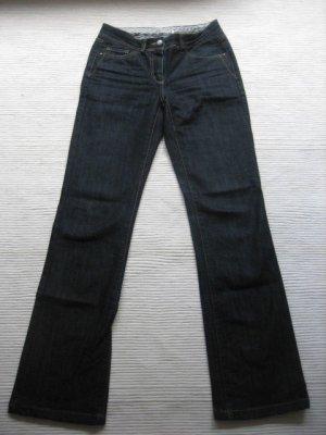 more & more jeans neu dunkelblau buero gr.34 xs gerade bein