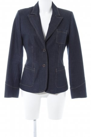 More & More Denim Blazer dark blue-beige casual look