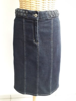 More & More Jupe en jeans bleu foncé