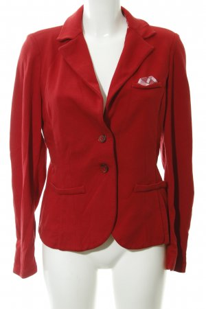 More & More Jerseyblazer rot Casual-Look