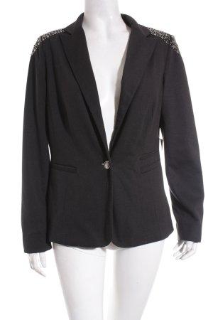 More & More Blazer in jersey nero elegante