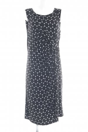 More & More Jersey Dress black-white spot pattern casual look