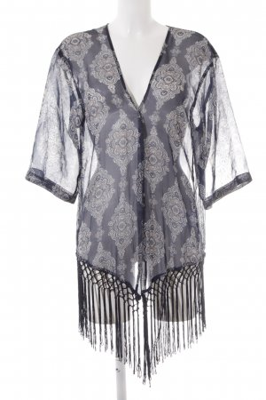 More & More Kimono blouse abstract patroon Beach-look